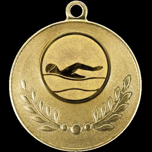 Pastille adhésive ''Natation'' pour récompenses sportives