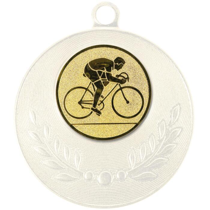 """Pastille adhésive """"Cyclisme"""" pour récompenses sportives"""