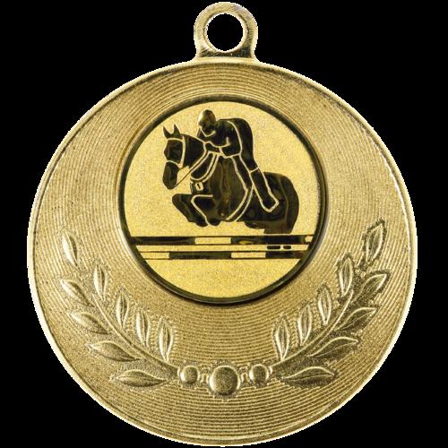 Pastille adhésive ''Equitation'' pour récompenses sportives
