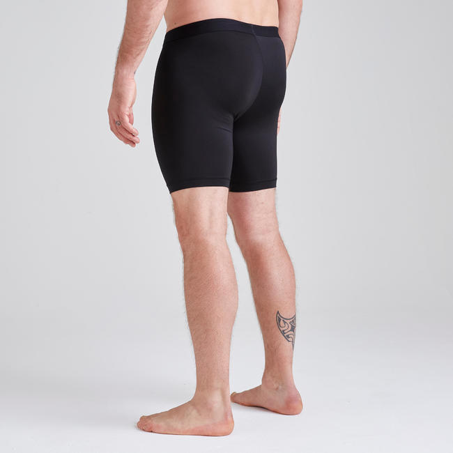 Football Base Layer Shorts Keepdry 100 - Black
