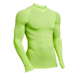 Sous-vêtement thermique adulte Keepdry 500 jaune fluo