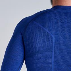Sous-vêtement adulte Keepdry 500 bleu chiné