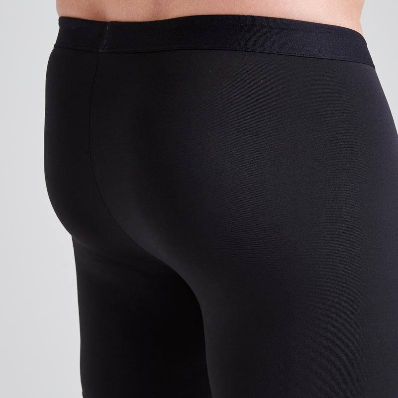 Football Base Layer Shorts Keepdry 100 - Black