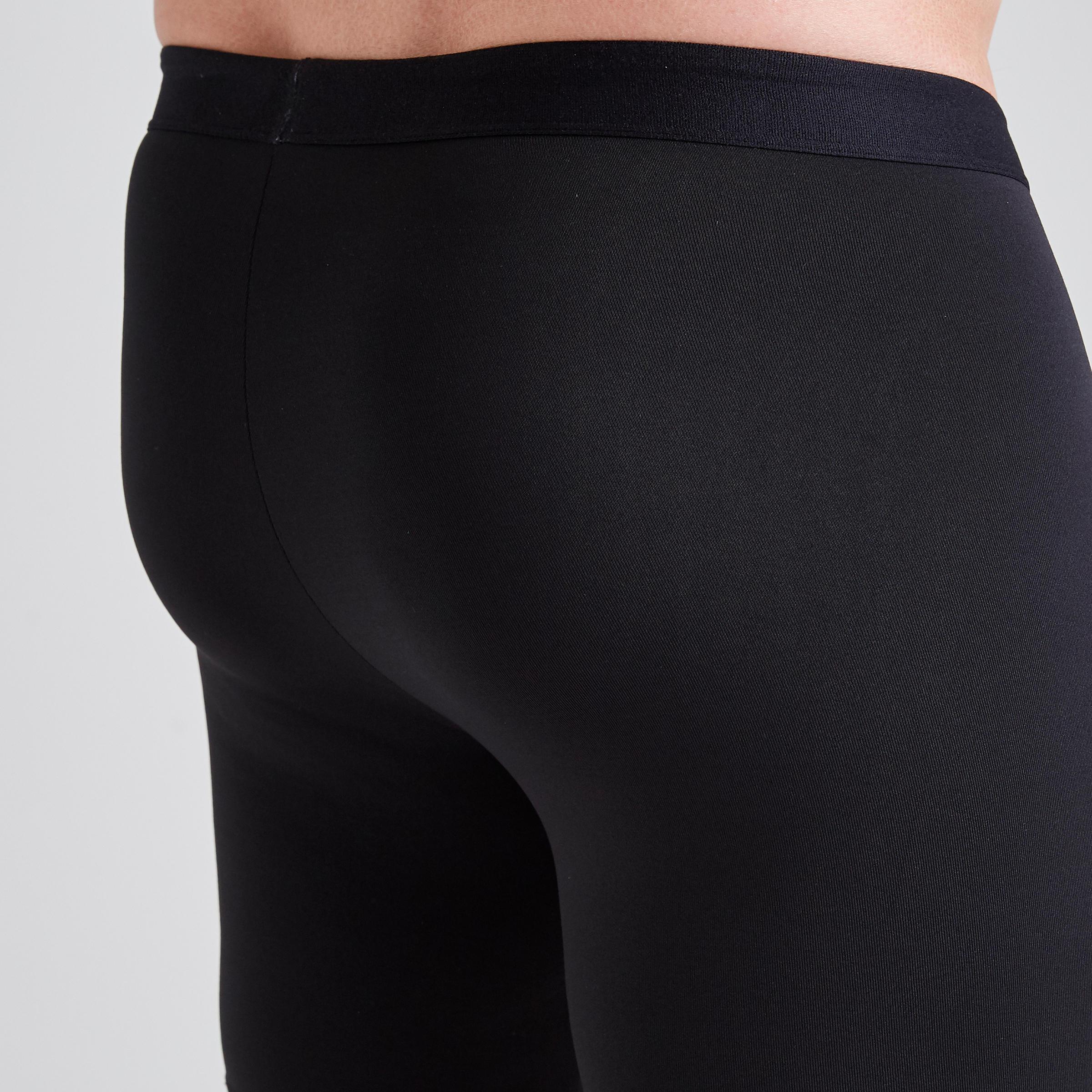 Men's undershorts Keepdry 100 - Black