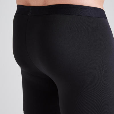 Sous-short de football Keepdry 100 noir