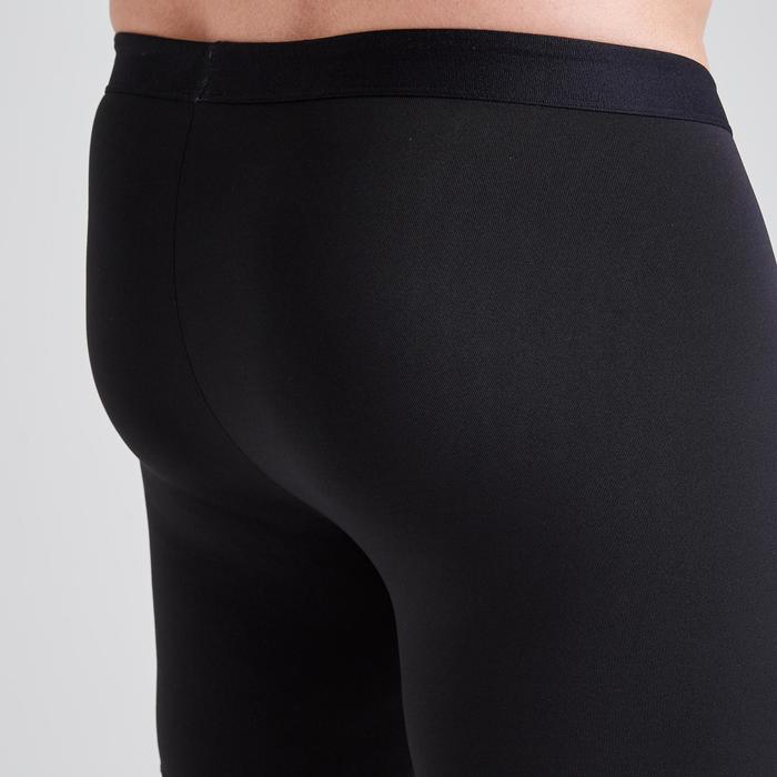 Adult Base Layer Shorts Keepdry 100 - Black