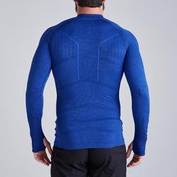 Ondershirt Keepdry 500 volwassenen gemêleerd blauw