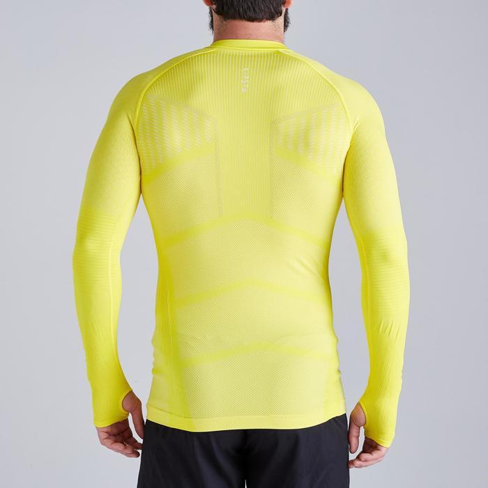 Thermoshirt Keepdry 500 lange mouw geel unisex