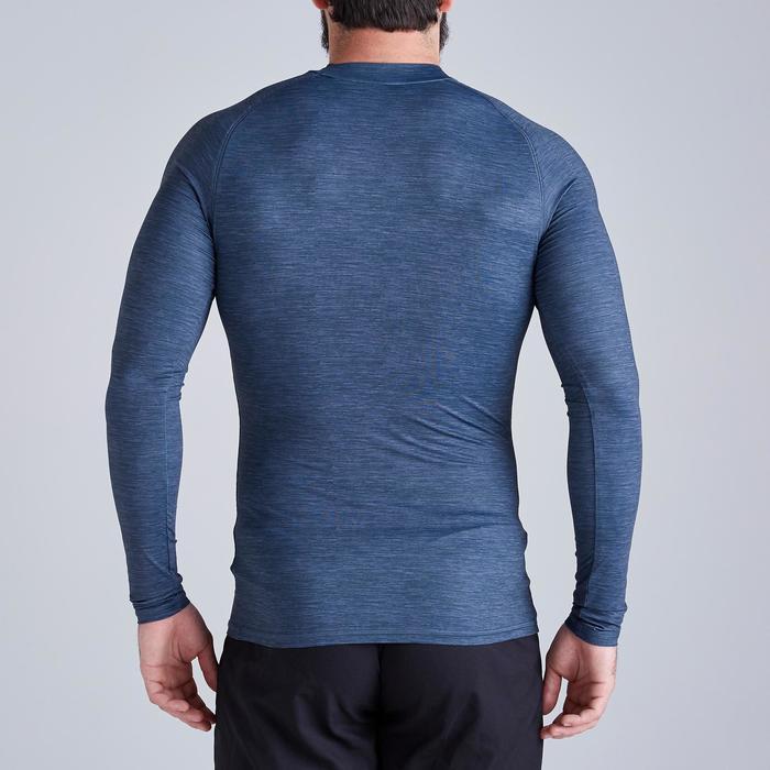 Thermoshirt Keepdry 100 lange mouwen grijs