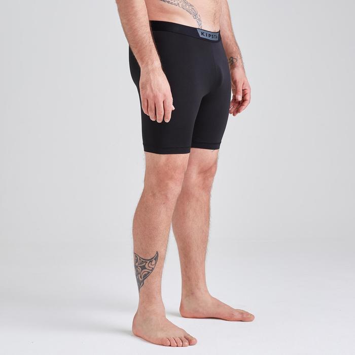 Pantalón Térmico Corto Kipsta KDRY100 Adulto Negro