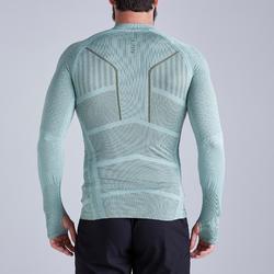 成人款底層衣Keepdry 500-灰綠配色
