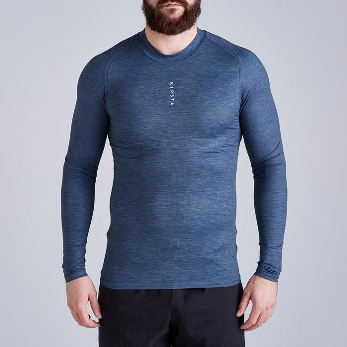 Sous-vêtement adulte Keepdry 100 gris chiné