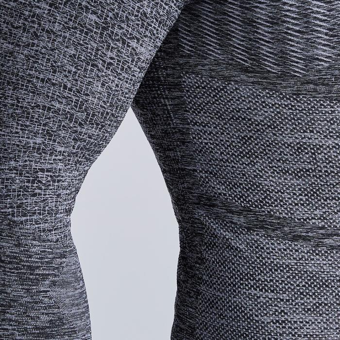 Ondershirt Keepdry 500 volwassenen gemêleerd grijs