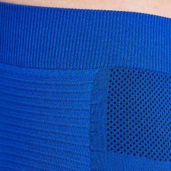 Ondershort voor voetbal volwassenen Keepdry 500 indigoblauw