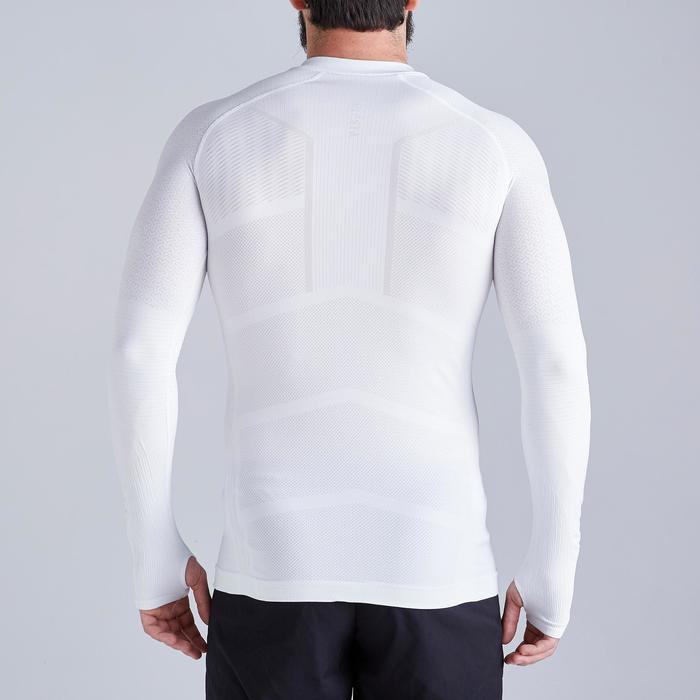 Camiseta Térmica Kipsta Keepdry 500 adulto blanco