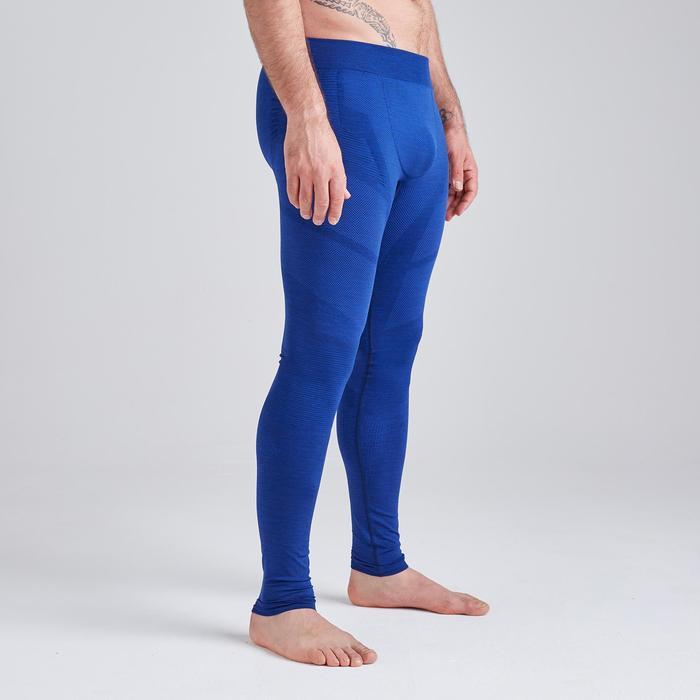 Tight volwassene Keepdry 500 gemêleerd blauw