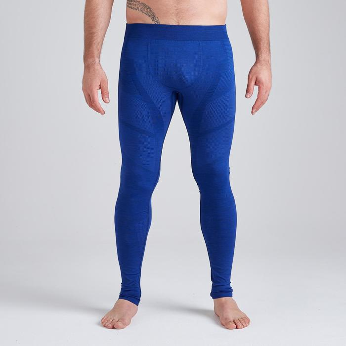 Tight volwassenen Keepdry 500 gemêleerd blauw