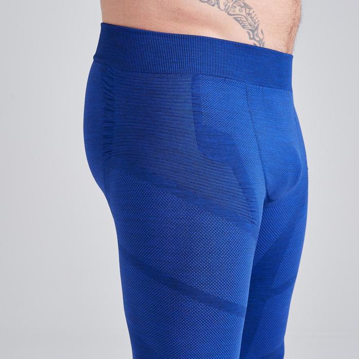 Thermobroek Keepdry 500 gemêleerd blauw