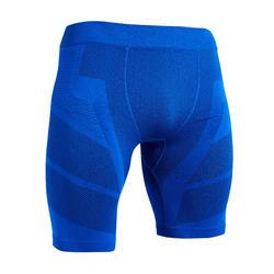 Voetbalondershort voor heren Keepdry 500 indigoblauw