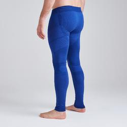 Mallas Térmicas Largas Kipsta Keepdry 500 adulto azul