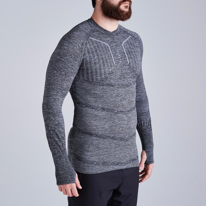 Sous-vêtement adulte Keepdry 500 gris chiné