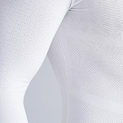 Funktionsshirt langarm Keepdry 500 atmungsaktiv Erwachsene weiß