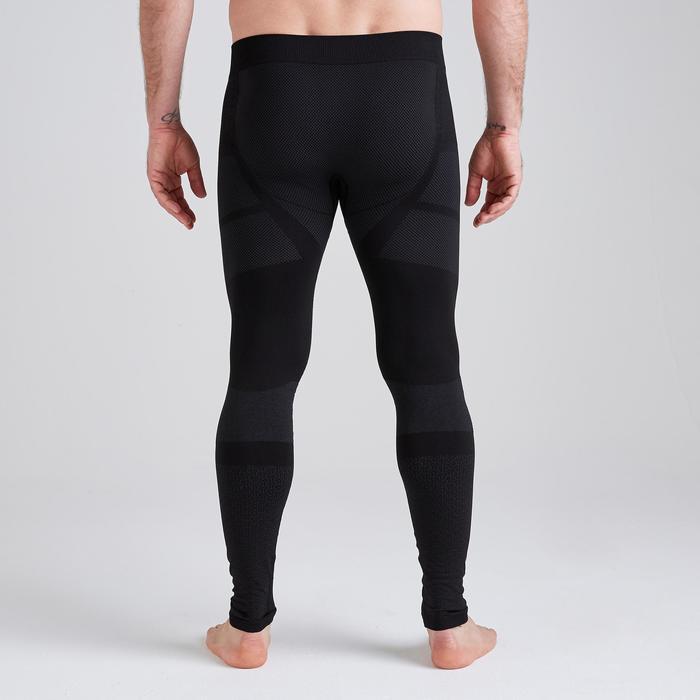 成人款緊身褲Keepdry 500-黑色