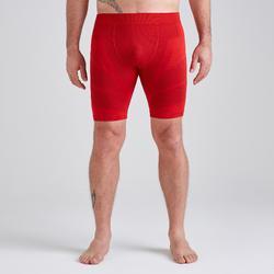 Pantalón Corto Térmico Kipsta Keepdry 500 adulto rojo