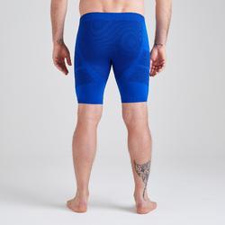 Ondershort volwassene Keepdry 500 blauw indigo