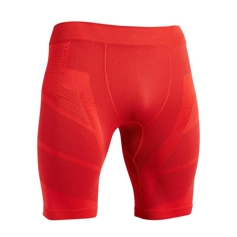 Sous-short Keepdry 500 homme football rouge