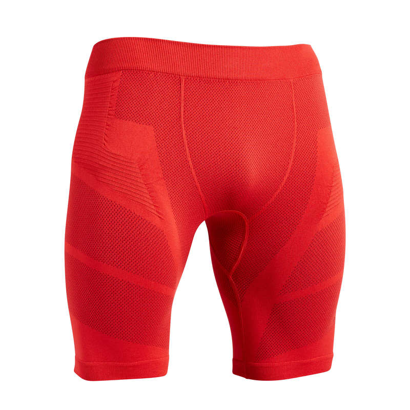 UNDERWEAR TEAM SPORT SENIOR Football - Keepdry 500 Adult Red KIPSTA - Football Clothing