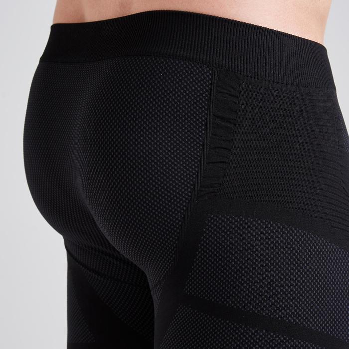 Pantalón Corto Térmico Kipsta Keepdry 500 adulto negro