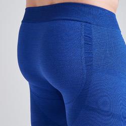 Keepdry 500 Adult Tights - Heathered Blue