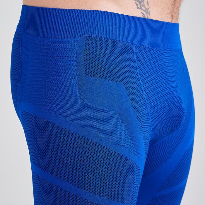 Pantalón Corto Térmico Kipsta Keepdry 500 adulto azul índigo