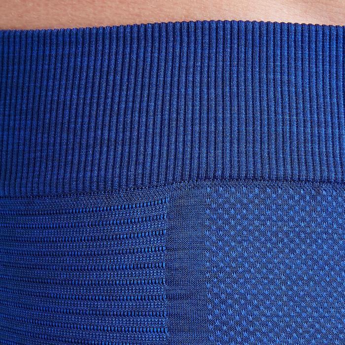 成人款緊身褲Keepdry 500-石灰藍