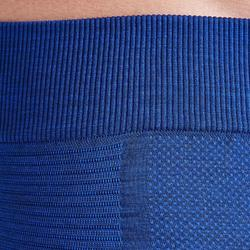 Tight voor voetbal volwassenen Keepdry 500 gemêleerd blauw
