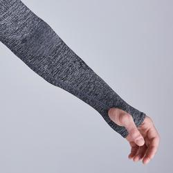 Ondershirt voor volwassenen Keepdry 500 gemêleerd grijs