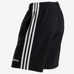 Pantalón Corto Chándal Gimnasia Adidas Niño Algodón Negro