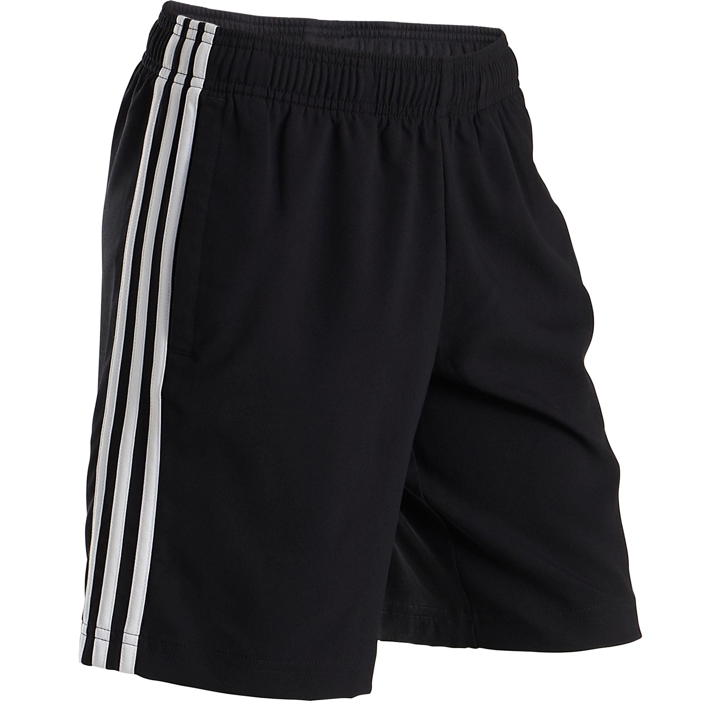 Jungen,  Kinder,  Kinder Adidas Sporthose kurz Logo am Bein Kinder   04060515409763