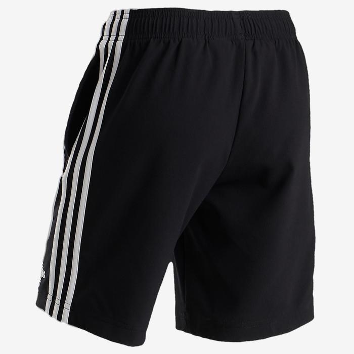 Sporthose kurz Logo am Bein Kinder