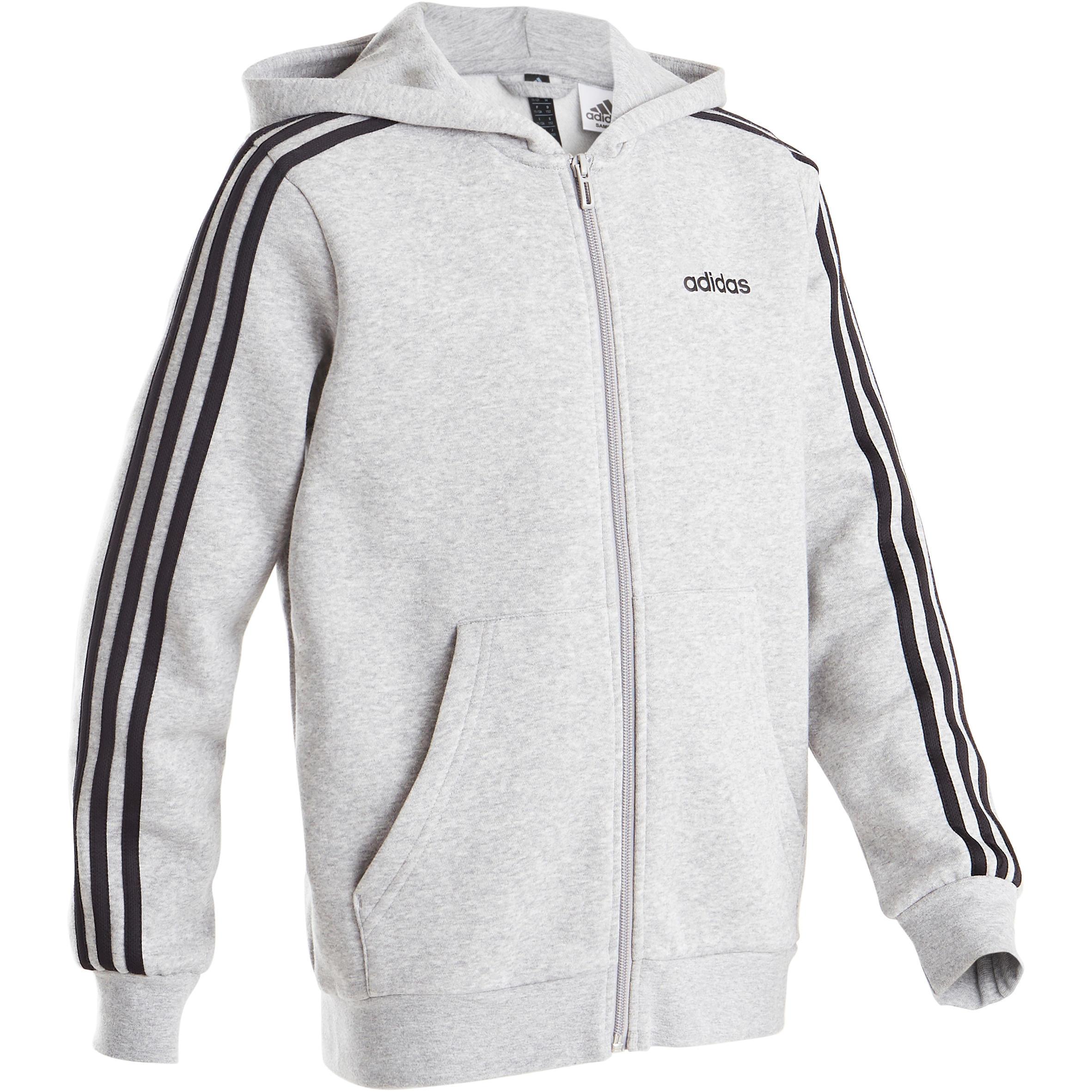 adidas veste grise