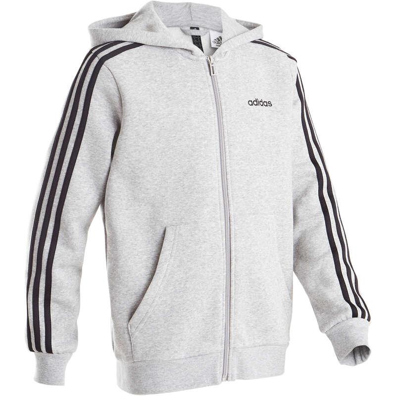 BOY EDUCATIONAL GYM COLD WEATHER APP Clothing - Boys' Jacket - Grey ADIDAS - Tops
