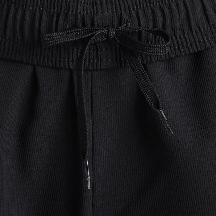 Pantalon 3 bandes noir garçon pour la gym
