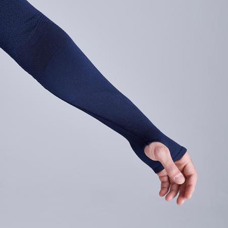 Sous-vêtement Respirant 500 bleu foncé - Adulte
