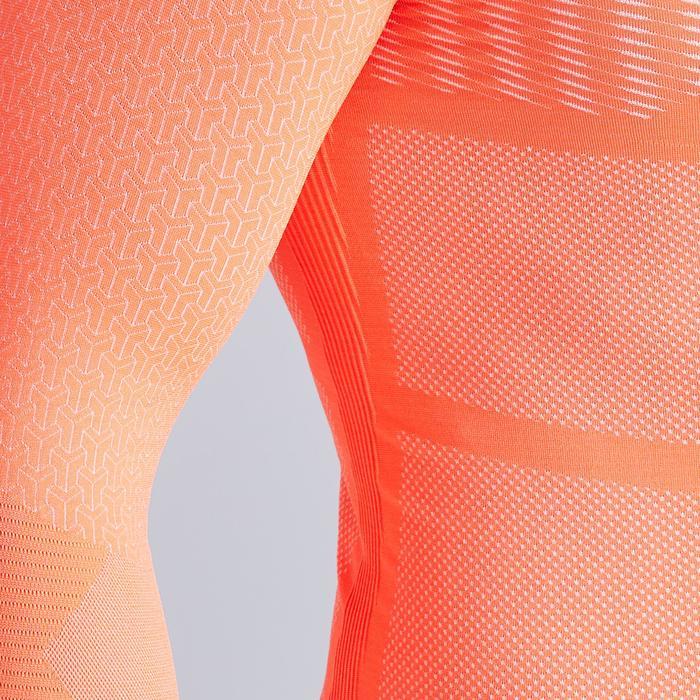 Thermoshirt Keepdry 500 lange mouw oranje unisex
