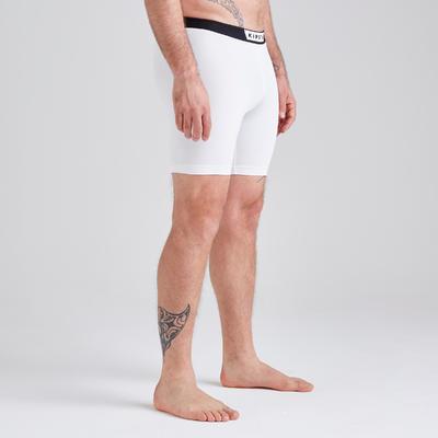 Pantalón Térmico Corto Kipsta KDRY100 Adulto Blanco