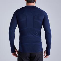 Ondershirt Keepdry 500 volwassenen donkerblauw