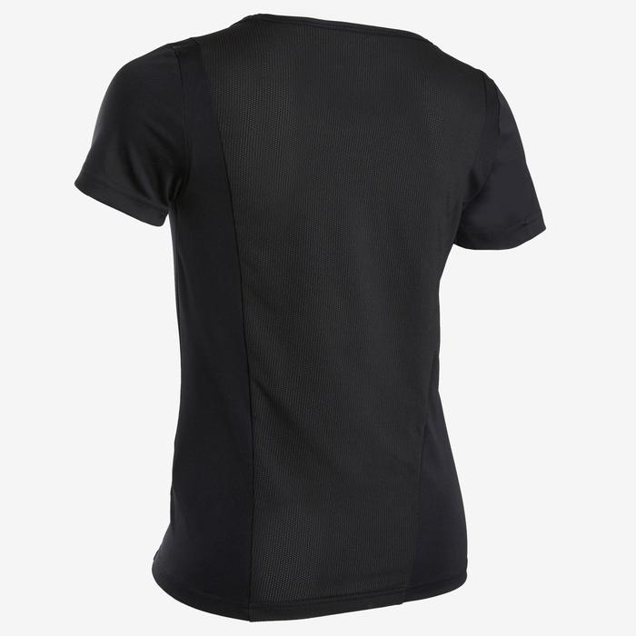 Tee-shirt noir adidas fille avec logo adidas