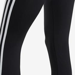 Meisjeslegging van Adidas, zwart met een print onderaan het been