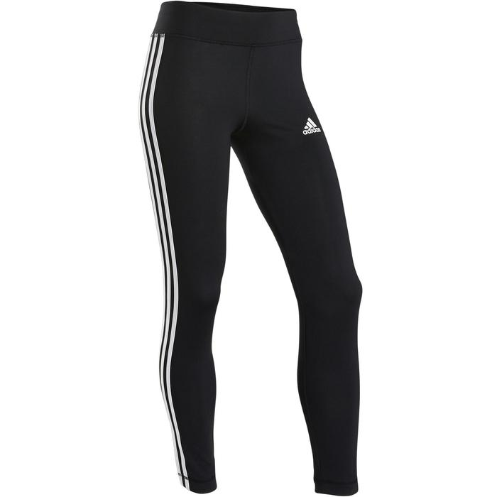 Mallas Leggings Deportivos Gimnasia Adidas Niña Negro